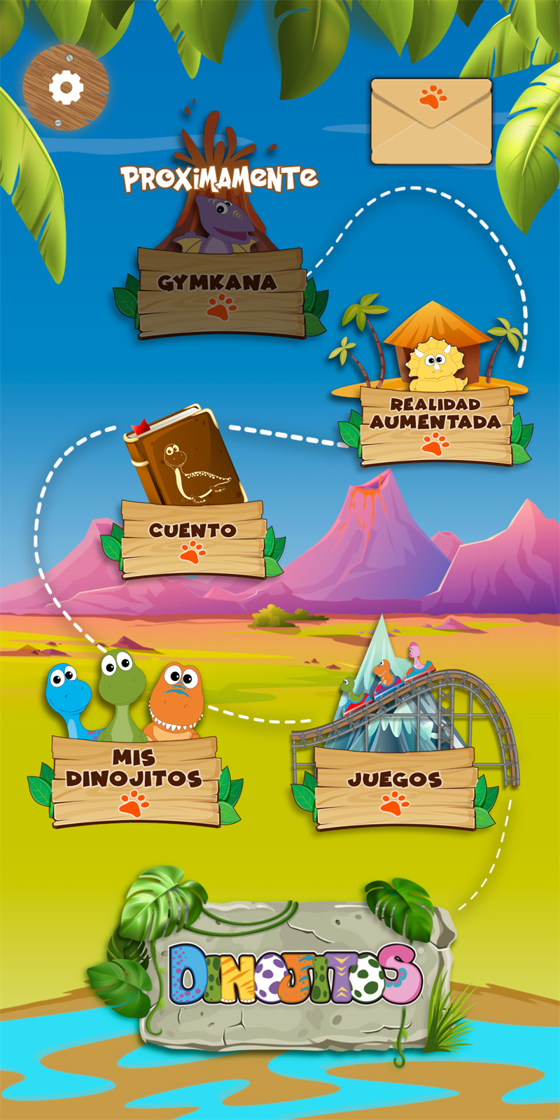 Vsion Studio: App Dinojitos